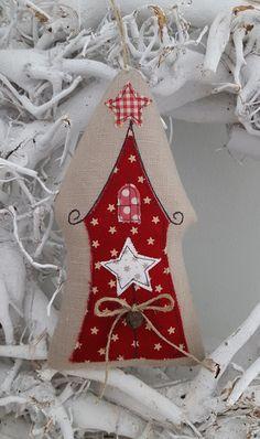Weihnachtshaus+Landhaus+Weihnachten++von+Feinerlei+auf+DaWanda.com