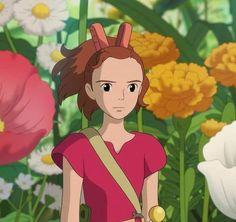 Secret World Of Arrietty, The Secret World, Studio Ghibli Art, Studio Ghibli Movies, Hayao Miyazaki, Film Anime, Anime Art, Cute Cartoon Wallpapers, Animes Wallpapers