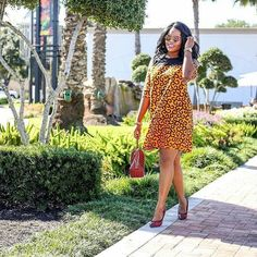 Check Out Casual African Print Dresses with Lovely Ankara Styles   Maboplus