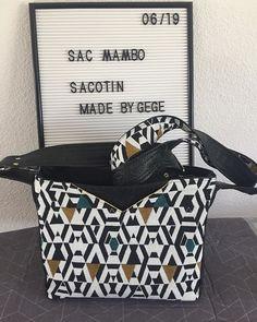 made_by_gege Voici mon sac Mambo #sacotin  Un vrai plaisir à coudre grâce aux beaux tissus #tissusdesursules et au kit de sac #lamerceriedescreateurs qui facilite la couture et donne des finitions parfaites ! Cadeau d'anniversaire et de fête des mères pour ma maman. Je pense en refaire d'autres !! #tissusdesursules #lamerceriedescreateurs #sacotin