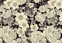 LIBERTYリバティプリント・国産タナローン生地<Amelie's Rose&Garden>(アメリ-ズ・ローズ&ガーデン)DC28684-J16F