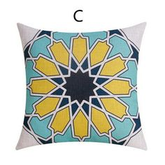Colorful Geometric decorative throw pillows for couch Minimalist style