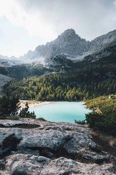 Lago di Sorapis by Nikolaus Brinkmann