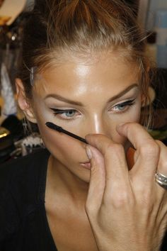 bronzed and cat eye