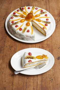 Cassata Siciliana from Sicily cookbook