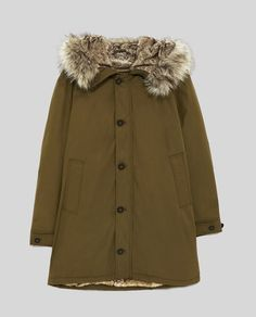 Image 8 of FAUX-FUR-LINED PARKA from Zara