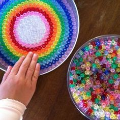 Suncatchers From Melted Beads | mandala theme and try our hand at melting pony beads into suncatchers …