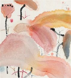 Sumi E Painting, Chinese Painting, Chinese Art, Watercolor Artwork, Watercolor And Ink, Art Lotus, Art Texture, Art Chinois, Art Asiatique