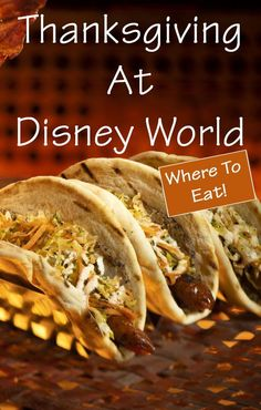 Are you spending your Thanksgiving at Disney World!? We have located plenty of restaurants that will be serving a Disney Thanksgiving dinner! Disney World Thanksgiving| Disney World for Thanksgiving| Thanksgiving Disney World| Thanksgiving dinner Disney World Vacation, Disney Cruise Line, Disney Vacations, Disney Travel, Disney World Tips And Tricks, Disney Tips, Disney Stuff, Disney World Thanksgiving, Thanksgiving Recipes