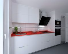 Madrid | Cocina Santos | Modelo Minos E | Encimera Compac