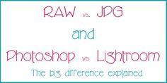 Raw v. Jpeg.