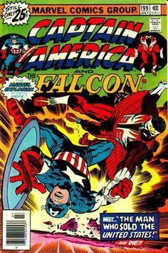 Captain America # 199 by Jack Kirby & Frank Giacoia