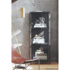 Roost Curator's Cabinet - Three Shelf - Narrow