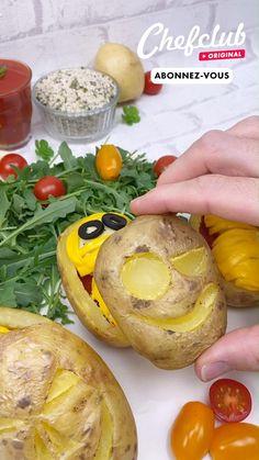 Vous avez besoin d'une recette ludique et gourmande pour Halloween ? Aujourd'hui, chefclub vous propose de repartir à l'époque des pharaons avec ces sarcophages en pomme de terre et leurs momies de ricotta ! Et pour encore plus d'idées de recettes, abonnez-vous ou rendez-vous sur chefclub.tv ! Vegan Recipes Videos, Tasty Videos, Food Videos, Cheesy Recipes, Mexican Food Recipes, Snack Recipes, Cooking Recipes, Brownie Recipe Video, Easy Vegan Dinner