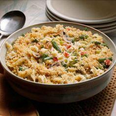 Tuna noodle casserole!  12 Favorite Sunday Dinner Recipes #spon | Last Mom