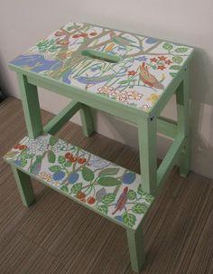 Kitchen stool for Juniper!