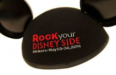These adorable Mickey Ears are just part of the new merchandise to Rock Your Disney Side 24 hour event at Disney Parks on May Disney Nerd, Disney Tips, Disney Love, Disney Magic, Disney Parks, Walt Disney World, Disney Stuff, Disney World Guide, Disney Specials