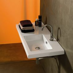 """You'll love the Condal Ceramic 39"""" Wall Mounted Sink with Overflow at Wayfair - Great Deals on all Home Improvement products with Free Shipping on most stuff, even the big stuff."""