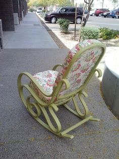 Back of Bentwood Rocker