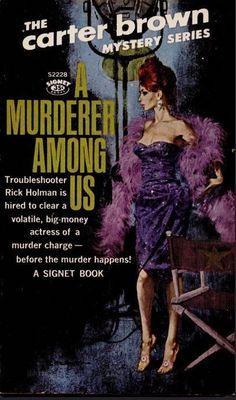 1962 Signet paperback original, cover art by Robert McGinnis