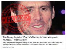 No, Jim Carrey Is NOT Moving to Lake Macquarie, Australia