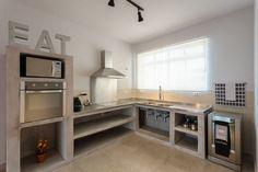 cozinha com balcão de alvenaria - Pesquisa Google