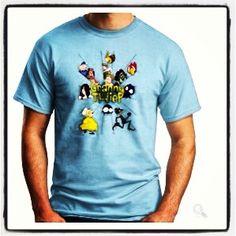 Sono arrivate le magliette con i simpatici personaggi di Granny and the Thief.. Potete trovarle al seguente link http://www.t-shirtshock.com/official-merchandise/granny-and-the-thief.html