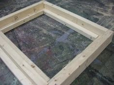Self-Watering Veggie Table : 15 Steps (with Pictures) - Instructables Watering Raised Garden Beds, Diy Self Watering Planter, Raised Garden Planters, Self Watering Containers, Raised Garden Bed Plans, Succulent Planters, Succulents Garden, Raised Beds, Planter Box Plans
