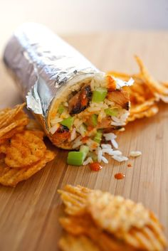 Buffalo chicken in a burrito? Doesn't get much better than that thanks to @boloco!