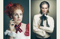 p a i n t i n g s by Joanna Kustra, via Behance