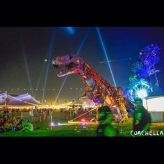 Rawwwwrrr! #Coachella #weekend2
