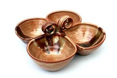 Pottery - serving dish X 4. This will be my next project!