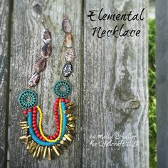 Crafting a Life in Indiana : Elemental Necklace featuring Bead Gallery beads available at @michaelsstores #MadeWithMichaels #PrettyPalettes