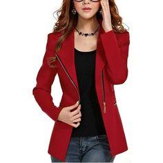 veste courte rouge - Recherche Google