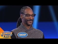 Must SEE! Can SNOOP beat SUGAR RAY on the BUZZER?   Celebrity Family Feud   OUTTAKE - YouTube