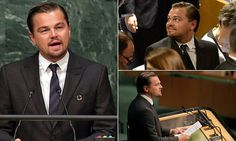 "{    'NOW IS THE TIME FOR BOLD, UNPRECEDENTED ACTION': LEONARDO DICAPRIO GIVES IMPASSIONED SPEECH ABOUT CLIMATE CHANGE AT THE UNITED NATIONS    }   #DailyMailUK .... ""Leonardo DiCaprio spoke at the United Nations on Friday before the Paris Agreement for Climate Change Signing.. DiCaprio urged them to leave fossil fuels 'in the ground where they belong'.""…"