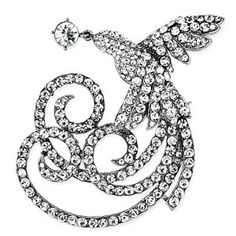 Pugster Noble Phoenix Clear Swarovski Crystal Diamond Accent Animal Brooches Pins  http://electmejewellery.com/jewelry/pugster-noble-phoenix-clear-swarovski-crystal-diamond-accent-animal-brooches-pins-ca/