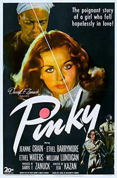 1 of 1 : PINKY linen Elia Kazan directed, Jeanne Crain, classic half-white/half-black image! Turner Classic Movies, Classic Films, Ethel Waters, Elia Kazan, Jeanne Crain, Dorothy Dandridge, Vintage Black Glamour, Glamour Photo, Pop Punk