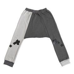 Loud Apparel - Drop crotch pants Lesli grey 5263ddff343