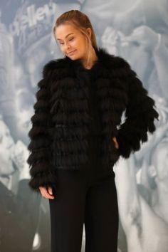 Minimum - Minnie Furjacket Black Fur Coat, Jackets, Black, Fashion, Down Jackets, Moda, Black People, La Mode, Fasion