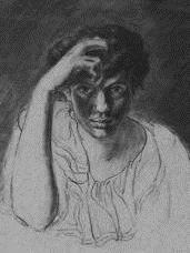 Georges Lacombe  - Self-portrait -Born: 18 June 1868 - Died: 29 June 1916  -  French  painter , sculptor -Movement: Symbolism, Post-Impressionism