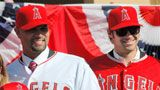 """LA"" Angels of Anaheim!  We still call them the Anaheim Angels! #orangecounty"