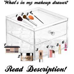 Coffee Pod Holder as a Make-Up Organizer!