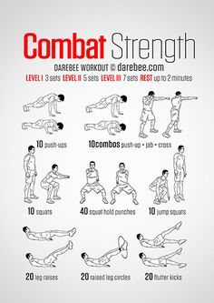 Combat Strength Workout | With Krav Maga, you'll get a great workout and learn how to defend yourself in virtually any situation. You'll also have a blast while doing it! madakravmaga.com 50272 Van Dyke Ave, Shelby Twp. MI