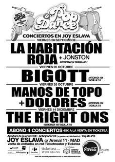 Conciertos en Madrid en Joy Eslava, Madrid