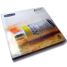 Schmincke Acryl AKADEMIE Kasten Karton-Set, 16 x Tb. 60 ml -