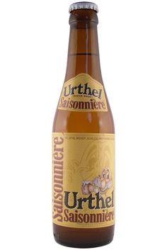 Cerveja Urthel Saisonnière, estilo Saison / Farmhouse, produzida por De Leyerth Brouwerijen, Holanda. 6% ABV de álcool.