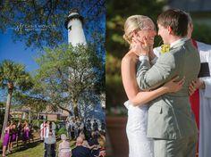 St Simons Lighthouse Wedding