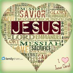 Names of Jesus Christ.