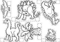 wb kijkdoos dino.gif Dinosaur Theme Preschool, Dinosaur Activities, Dinosaur Crafts, Dinosaur Birthday, Craft Activities For Kids, Dino Museum, Dinosaur Silhouette, Dinosaur Coloring, Paper Dolls Printable